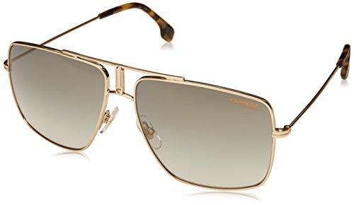 Carrera 1006/S Sunglasses CA1006S-006J-EZ-6014 - Gold Havana Frame, Green Silver Mirror -