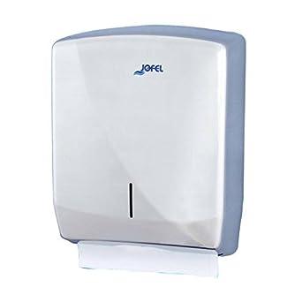 Jofel AH25500 Futura Dispensador de Toallas de Manos, Zig-Zag, Inox Brillo: Amazon.es: Industria, empresas y ciencia