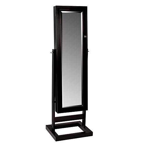 Mele & Co. 00920F16 Verona Mirrored Jewelry Armoire