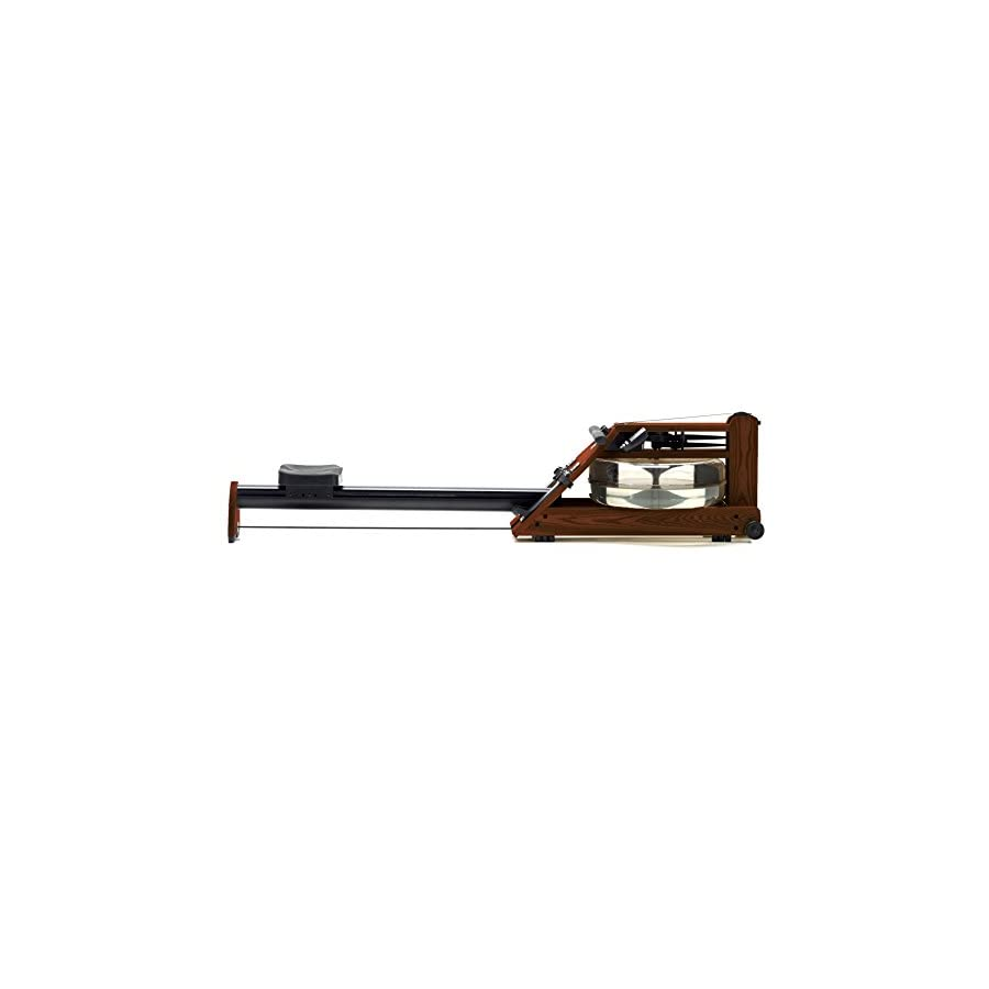 Water Rower Exercise Machine by WaterRower A1 S4 Rose with Self Regulating Resistance