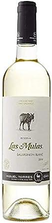 Las Mulas Sauvignon Blanc, Vino Blanco - 750 ml