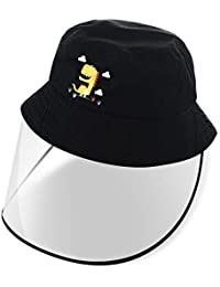 Unicorn Kids Bucket Hat with Removable Full Shield Outdoor Lightweight