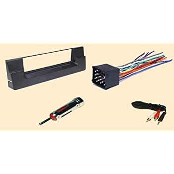 bmw 5 540i and 528i series 1997 1998 1999 2000 stereo wiring harness dash install. Black Bedroom Furniture Sets. Home Design Ideas