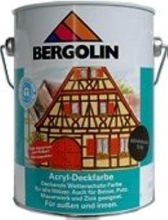 Bergotec 750 Ml Wetterbestandige Holzfarbe Fur Aussen Auf Dispersionsbasis Wasserverdunnbar Friesenblau 7204