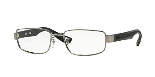 Ray-Ban Eyeglasses RX6318 2502 Gunmetal 54 17 - Ban 2502 Ray