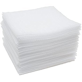 Foam Cushion Sheets 12 X 12 for Packing and Padding; Moving Supplies (50 Pack) (White) (50)