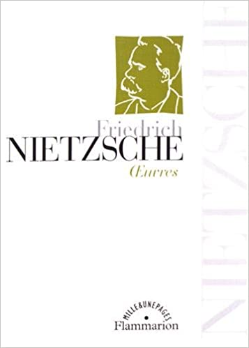 Friedrich Nietzsche – Oeuvres