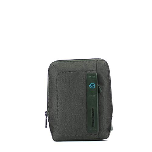 Piquadro Sac porté épaule avec porte-Ipad Mini Chev Vert