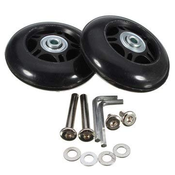 Wheel Axle Repair Luggage Suitcase Replacement Wheelbarrow Tire Shaft Bracket Diameter - 1PCs