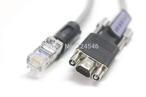 FENGYI KEJI Used Micro DB9 to RJ12 for Dell EMC 038-003-085 SPS Serial Cable