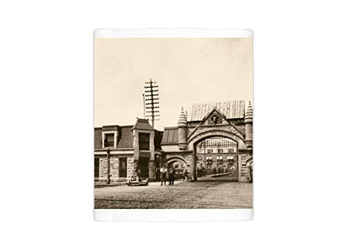 (Mug of Union Stockyards entrance, Chicago, 1890s (5886915))