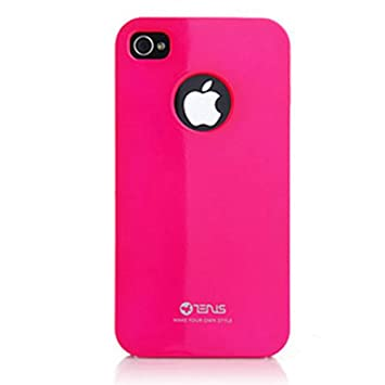 amazon zenus iphone4ケース air jacket vivid pearl pink z221i4