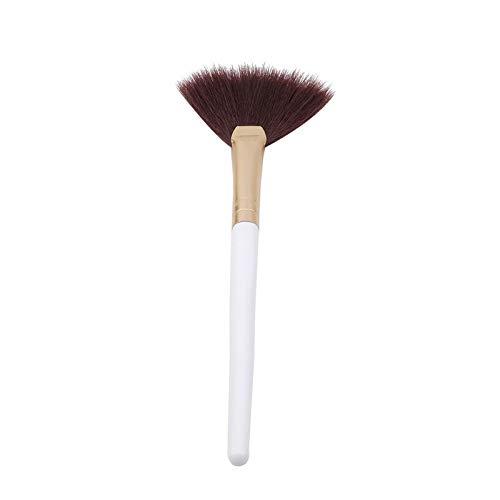 1PC Fan Shape Makeup Cosmetic Brush Blending Highlighter