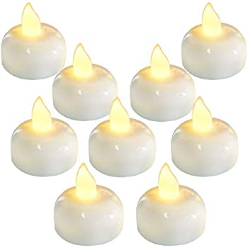 Amazon Com Biedermann Amp Sons Rose Shaped Floating Candles