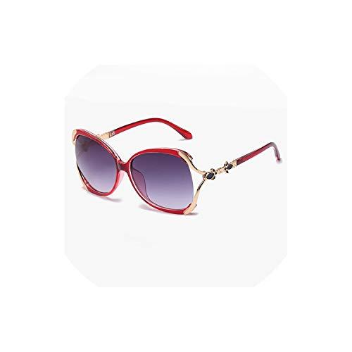 Oculos De Sol Sunglasses for Women Zonnebril Dames Female Oversized Trending Sun ()