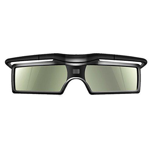 OFKP® 144Hz 3D DLP-Link Active Shutter Glasses For Optoma/BenQ/Acer/LG/Sharp/Vivitek/Dell/ViewSonic/NEC/CASIO Projectors (1 Pcs)