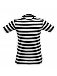 9ce413fdc2bc Image Unavailable. Image not available for. Colour: Vogueland Kids Children  Striped T-Shirt Fancy Dress ...