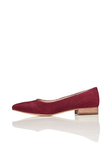 FIND Tacco Donna Rosso con Ballerine Bordeaux fqzxBfOwr7