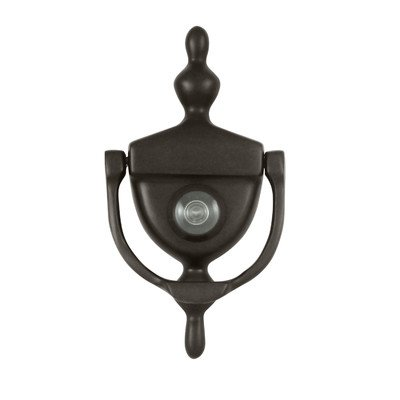 (Door Knocker with Viewer Finish: Oil Rubbed Bronze)
