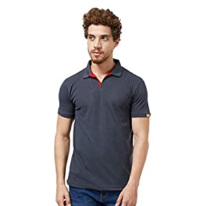 Wear Your Opinion Men's Cotton Slim Fit Collar Neck Polo T-Shirt