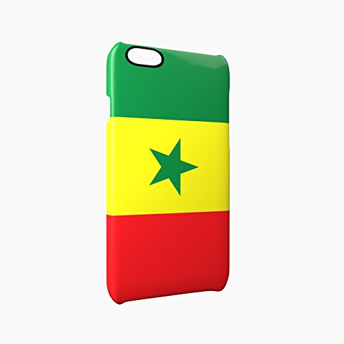 Flag of Senegal Glossy Hard Snap-On Protective iPhone 6 Plus + / 6S Plus + Case Cover