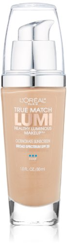 L'Oréal Paris True Match Lumi Healthy Luminous Makeup, C5 Classic Beige, 1 fl. oz.