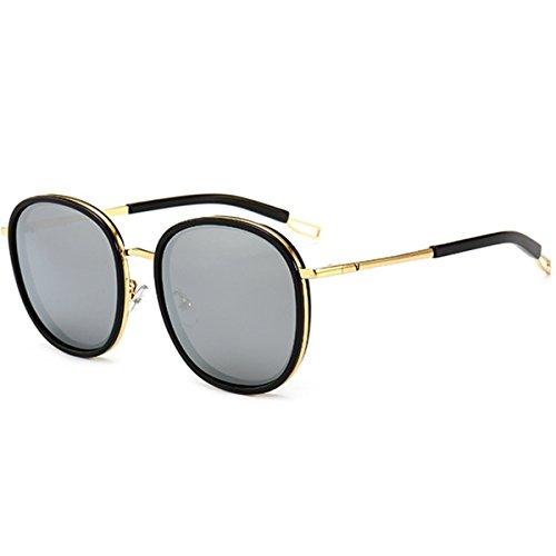 Hombres Sol Gafas B Sol De De XGLASSMAKER Gafas Mujeres Y Gafas De Sol Redondas Polarizadas Polarizadas 7RTnvw