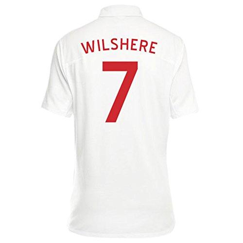 文芸罪悪感危険Umbro WILSHERE #7 England Women's Home Jersey/サッカーユニフォーム イギリス ホーム用 背番号7 ウィルシャー レディース向け