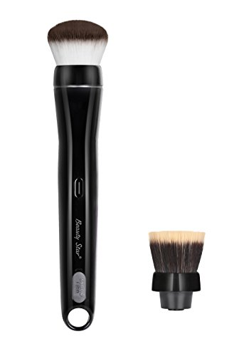 Electric Makeup Brush 360 Degree Rorating USB Rechargeable Gift Package Starter Kit for Foundation & Powder