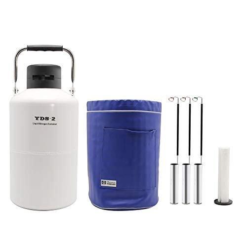 Container Liquid Nitrogen LN2 Tank with Straps and Carry Bag ()