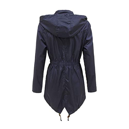 Lungo Antivento Fangcheng Primavera Impermeabile Inverno Trench Cappuccio Casual Donna Con Blu Coat Autunno Tuta wwHq76I