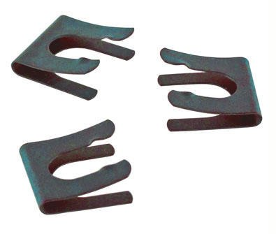 CG-423-01 - Metal Retaining Clips for Glass Stopcock Plugs, Size 1 - Metal Retaining Clips for Glass Stoppers, Chemglass - Pack of 12 ()