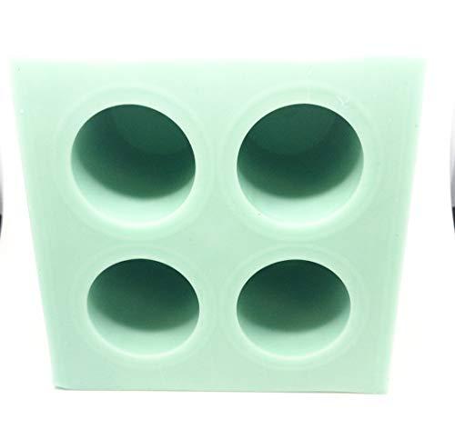 Resin Bottle - Hobby-CAST Green 4 Cavity Bottle Stopper Silicone Casting Mold for Resin Casting