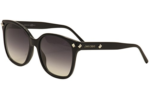 Jimmy Choo Dema/S 0807 Black 9C dark gray gradient lens Sunglasses by JIMMY CHOO