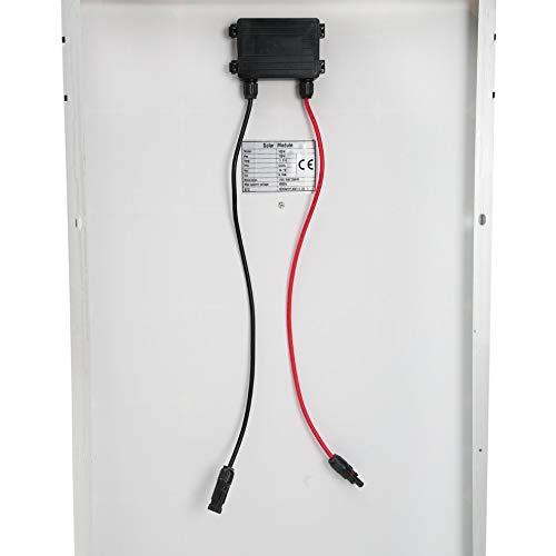 Peppydazi Portable Boat Car Solar Battery Charger 100W Moncrystalline Solar Panel Module by Peppydazi (Image #8)