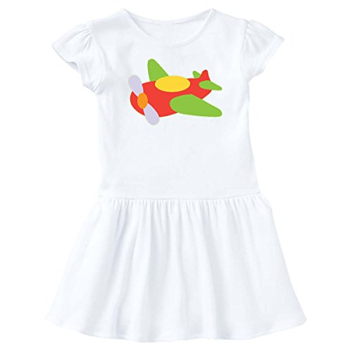 inktastic Airplane Old fashioned Vintage Infant Dress 6 Months White (Old Fashioned Girl Dresses)