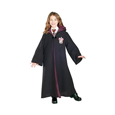 DELUXE CHILD Harry Potter Deluxe Gryffindor Robe (vest, shirt, tie, pants and shoes not included) from Rubies Costumes