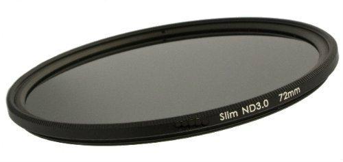 CameraPlus - S-Pro1 Filtro de Densidad Neutral ND1000 Slim 77mm - Incluyendo Tapa del Objetivo con el Mango Interna