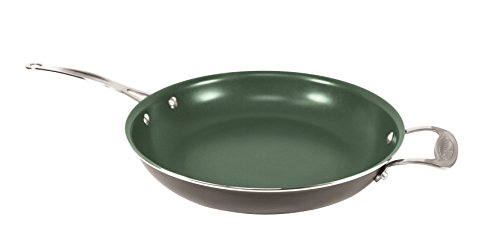 Orgreenic 12 in Frying Pan Ceramic Cookware - Cook Delicious Healthy Recipes the Safe Way by ORGREENIC (Image #1)