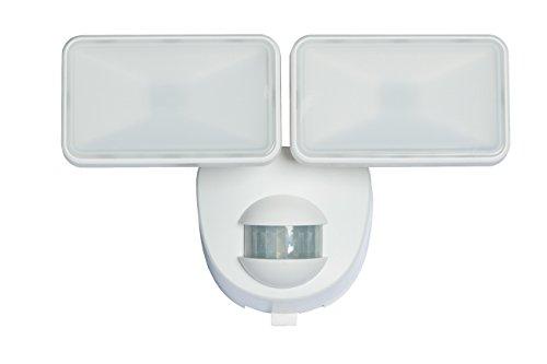 Heath Zenith HZ-7161-WH 400 Lumen Battery Powered Motion Sensing Light with Easy Install Plate, White -