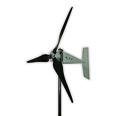 12 Volt 1600 Watt Three Blade Missouri Wind and Solar Raptor Generation 5 (G5) Freedom Wind Turbine Generator