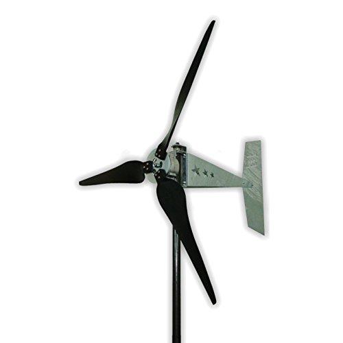 Missouri Wind and Solar 24 Volt 1600 Watt Three Blade Raptor Generation 5 (G5) Freedom Wind Turbine Generator
