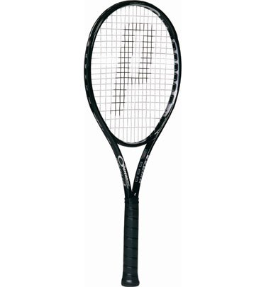 O3 Speedport Black PreStrung Tennis Racquets