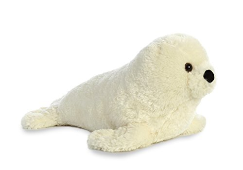 Aurora World Destination Nation Harp Seal, White -