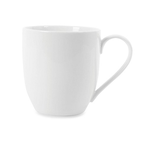 Everyday White by Fitz and Floyd 16 oz. Big Coupe Mug