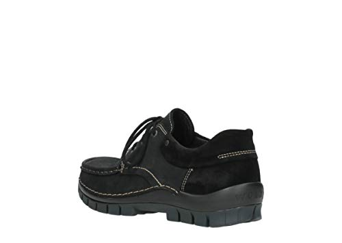 Sandals 11002 Nubuck Wolky Leather 3204 Womens Black Jewel vqvwAHO8