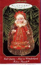 Hallmark Keepsake Ornament Red Queen Alice in Wonderland Madame Alexander 1999