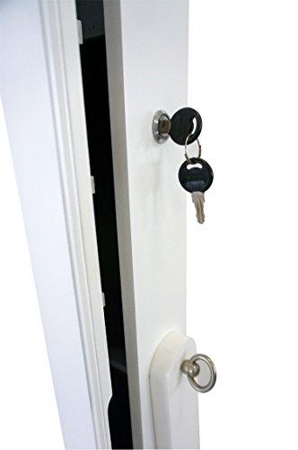 schmuckschrank mit spiegel schmuckaufbewahrung. Black Bedroom Furniture Sets. Home Design Ideas