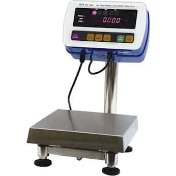 A&D Weighing SW-150KM Washdown Industrial Scale, SS Hi-Pressure, 330lb/150kg, NSF; 11.75