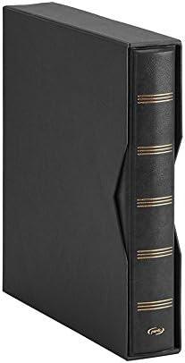 Pardo 134001 - Album para colección billetes universales, color negro: Amazon.es: Oficina y papelería